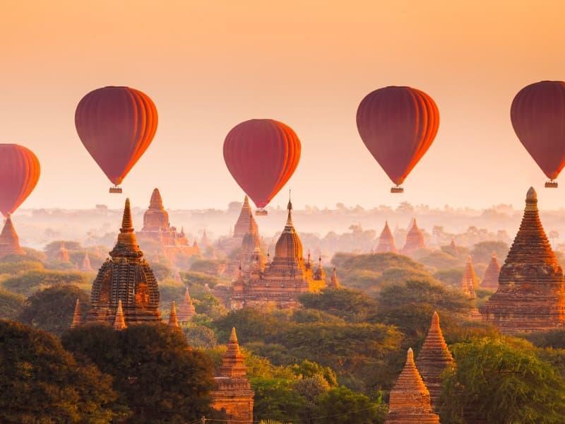 Fête culturelle en Birmanie
