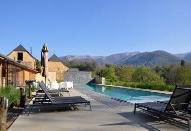Une villa louée pour les vacances