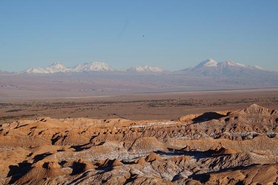 montagnes chiliennes