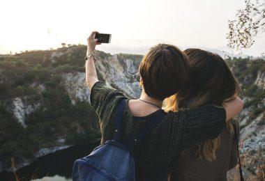 Un selfie pendant un tour du monde à deux
